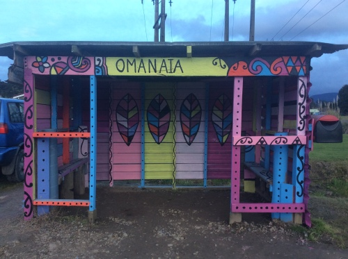 Omanaia Bus Shelter